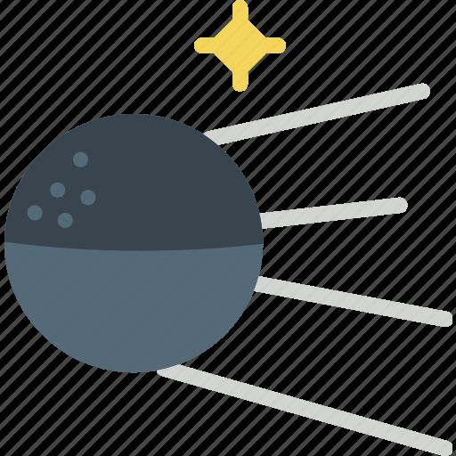 exploration, moon, russia, satellite, space, sputnik icon