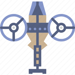 avatar, drone, fighter, helicopter, movie, ship icon