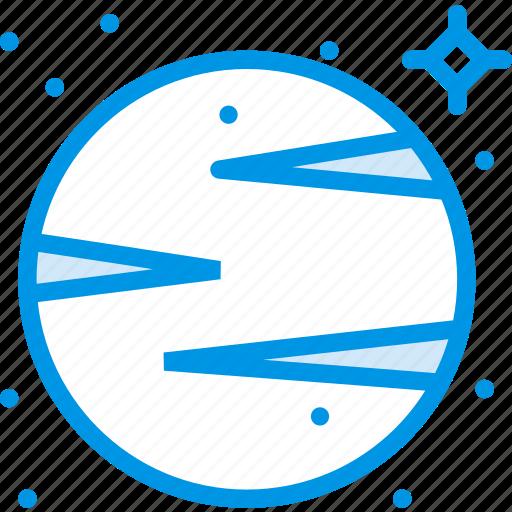 galaxy, planet, space, venus, webby icon