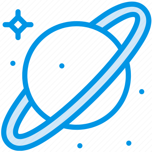 asteroid, belt, galaxy, planet, saturn, space, webby icon