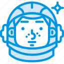 astronaut, gagarin, helmet, russia, space, spaceship, webby icon