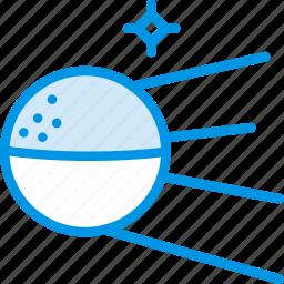 galaxy, orbit, russia, satellite, space, sputnik, webby icon