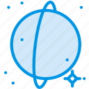 galaxy, planet, rings, space, uranus, webby icon