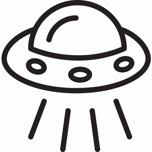 alien, kidnap, saucer, space, spaceship, ufo icon