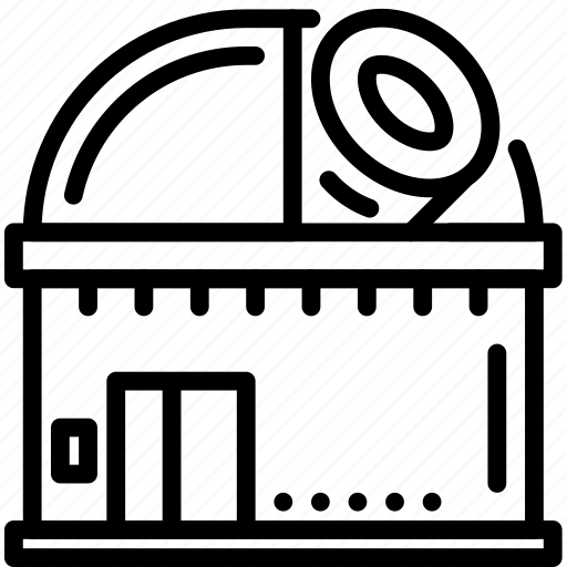 nasa, observatory, seti, sky, space, telescope icon