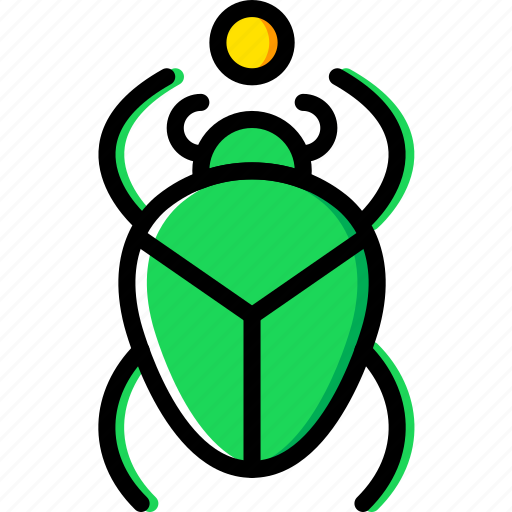 egyptian, scarab, sign, symbolism, symbols icon