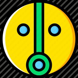fortitude, sign, symbolism, symbols icon