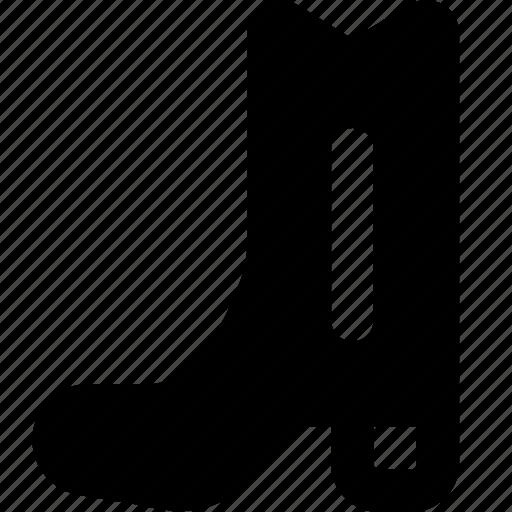 boot, cowboy, west, wild icon