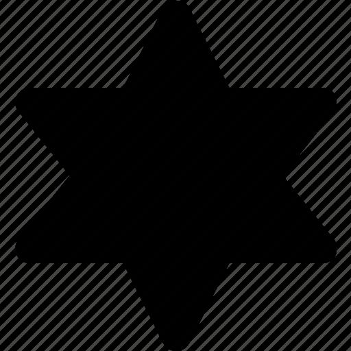 badge, sheriffs, west, wild icon
