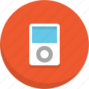 device, ipod, music, music player, music player icon icon
