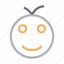 emoji, emoticon, face, happy, smiley icon