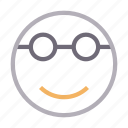 beauty, emoji, emoticon, face, sunglasses