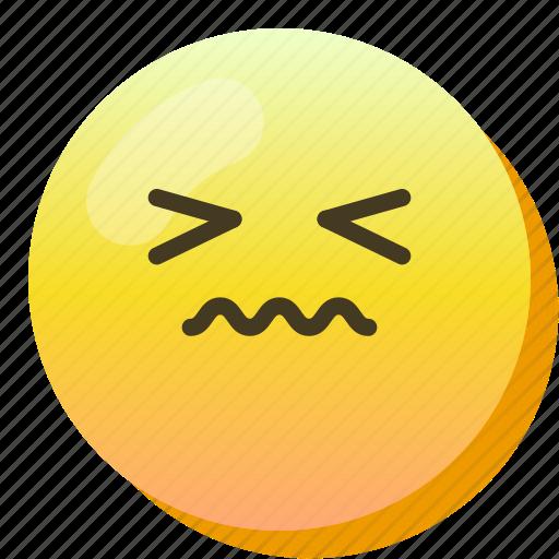 Disgusted, emoji, emoticon, smile, smiley icon - Download on Iconfinder
