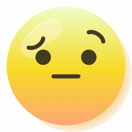 Emoji, emoticon, puzzled, smile, smiley icon - Download on Iconfinder