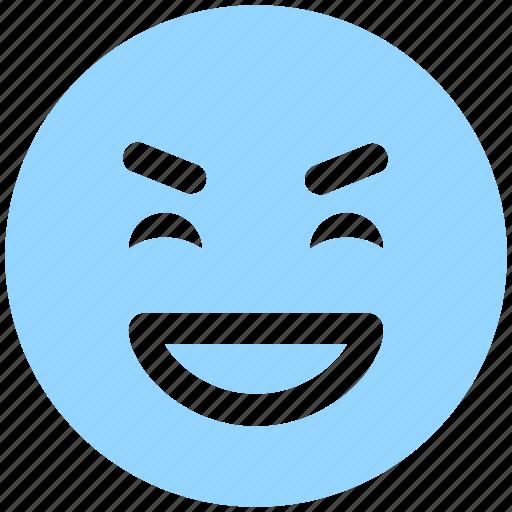 big grin, emoji, emoticons, emotion, expression, face smiley, laugh, smiley icon