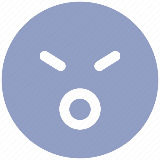 emoticons, emotion, expression, face smiley, smiley, surprised, worried, yawn icon