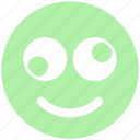 emoji, expression, eyes, face, funny, funny smile, rolling eyes, smiley icon