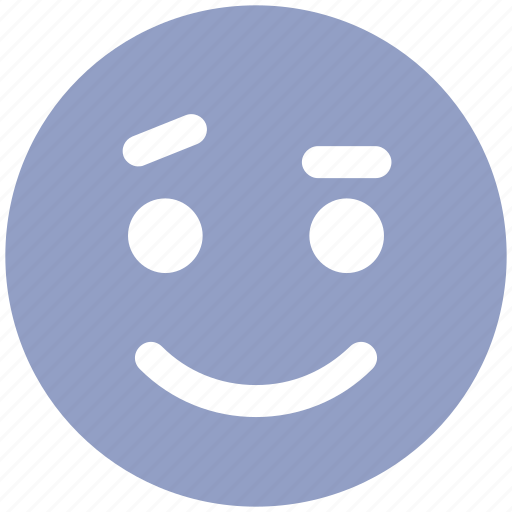 emoticons, emotion, expression, face smiley, happy, smiley, speechless icon