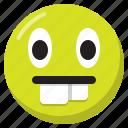 emoji, emoticon, expression, nerd, smiley icon