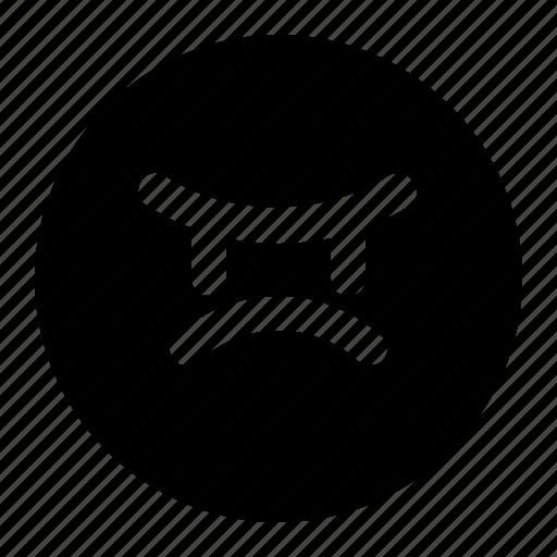 angry, bad, emoji, emoticon, expression, face, smileys icon