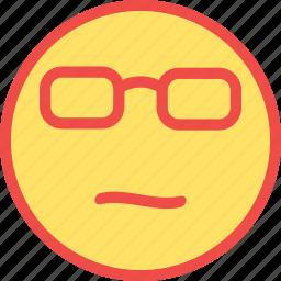 beach, eyeglasses, smart emoji, smart emoticon, summer icon