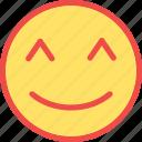 good, happy, healthy, healthy emoticon icon