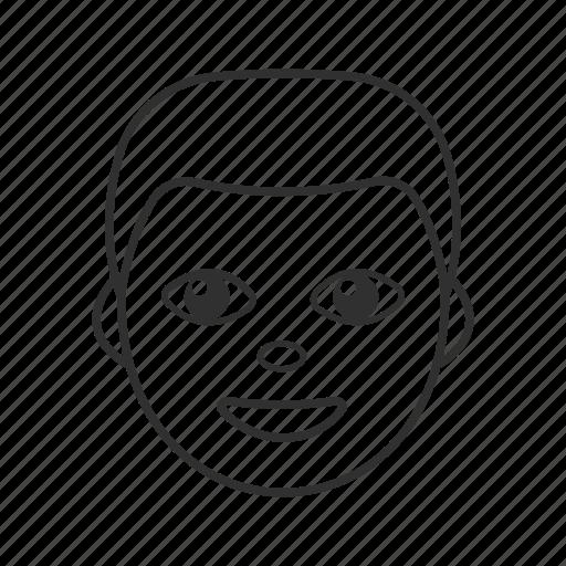 boy, emoji, gentleman, man, man's face, older man, person icon