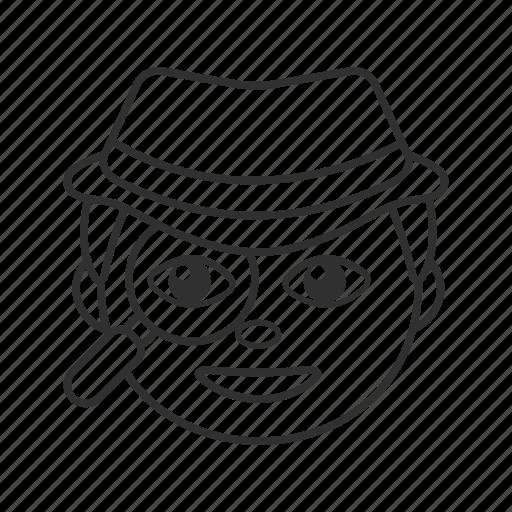 crime, crime inspector, emoji, inspector, man, sleuth, spy icon
