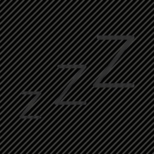 emoji, rest, sleep, sleepy, snooze, tired, zzz icon