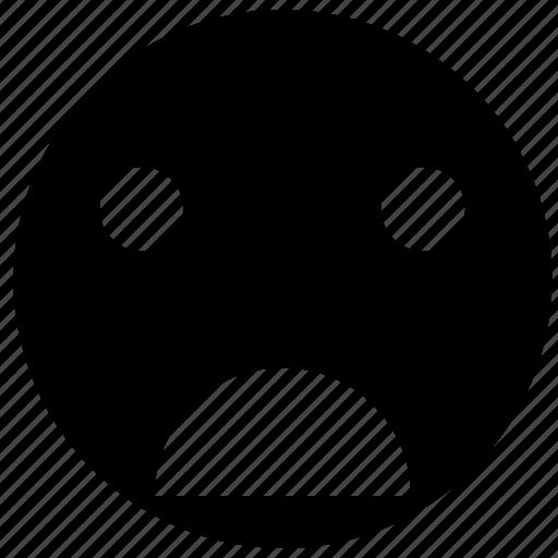checklist, emoji, emoticon, emotion, face, sad, smiley icon