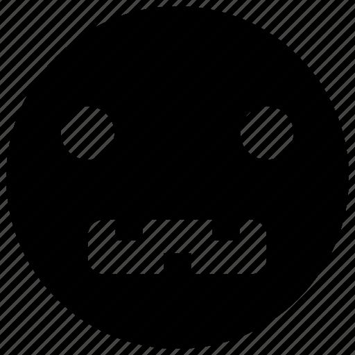 emoji, emoticon, emotion, face, sad, smile, smiley icon