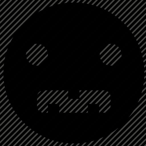 emoji, emoticon, emotion, face, sad smiley, smiley icon