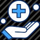 giving, hand, smoking icon