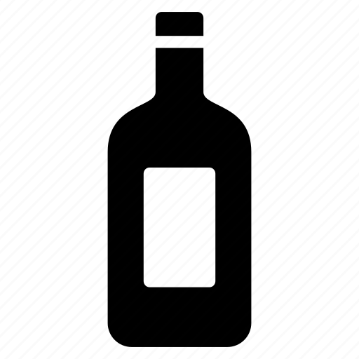 alcohol, bottle, drink, liquor, wine icon