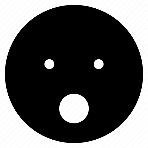 avatar, emoticon, emotion, expression, face, mood, surprised icon