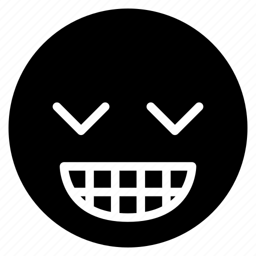 avatar, emoticon, emotion, expression, face, grin, smile icon