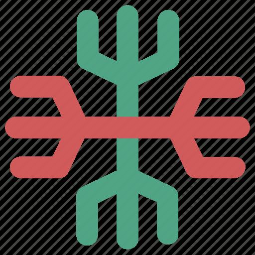 christmas, ice crystal, ice flake, snow crystal, snowfall, snowflake, winter icon