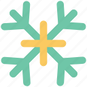 christmas, ice crystal, ice flake, snow crystal, snowfall, snowflake, winter icon