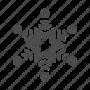 christmas, cold, freeze, newyear, snowflake, winter, xmas