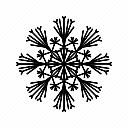 cold, frozen, snow, snowflake, winter, winter time icon