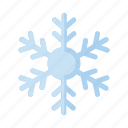 christmas, flake, ice, snow, snowflake, winter icon