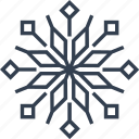 christmas, flake, flower, geometric, holiday, line, lotus, snow, snowflake, vintage, winter icon