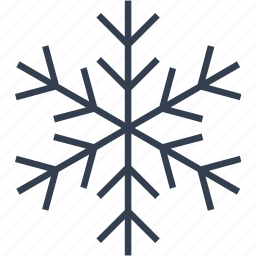 christmas, flake, geometric, holiday, line, snow, snowflake, winter icon