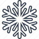 christmas, classic, flake, geometric, holiday, line, snow, snowflake, winter icon