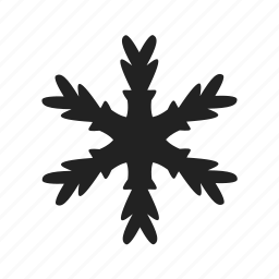 christmas, cold, freeze, frost, frozen, ice, snow, snowflake icon