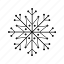 christmas, cold, freeze, frost, frozen, ice, snow, snowflake, weather icon