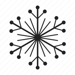 christmas, cold, freeze, frost, frozen, ice, snow, snowflake, weather, winter icon
