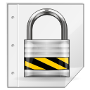 file, lock, safe, secure icon