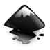 inkscape, mountain icon