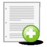 document, new icon